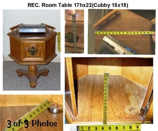 ROUND OAK TABLE C