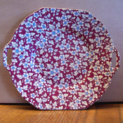 Royal Brocade Chintz Plate