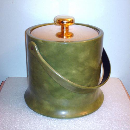 Fabulous Vintage Ice Bucket Flaired Bottom