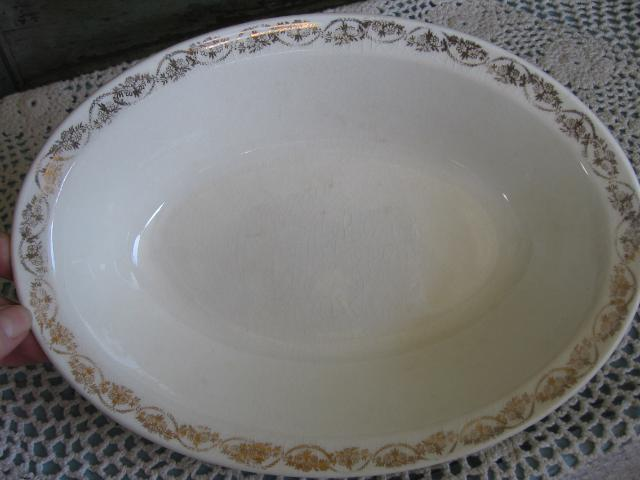 Vintage Serving Bowl