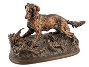 Antique French Bronze Dog
