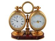 Victorian Timepiece Barometer