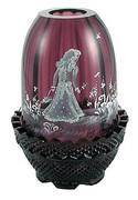 3692 Aubergine Mary Gregory Fairy Light