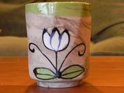 Vintage Ceramic Floral Planter