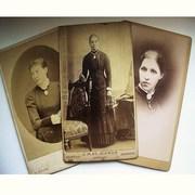 CDV Photos - Victorian Ladies with Attitude :o)