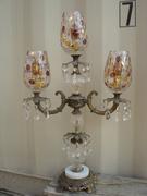 Table lamp candelabra / chandelier Coin dot globes