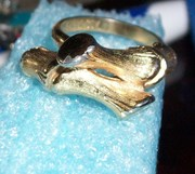 Simple slightly bold ring