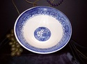 Unmarked Blue Willow Bowl