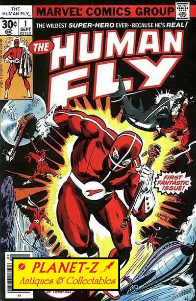 Marvel Comics The Human Fly # 1