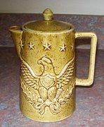 American Eagle teapot