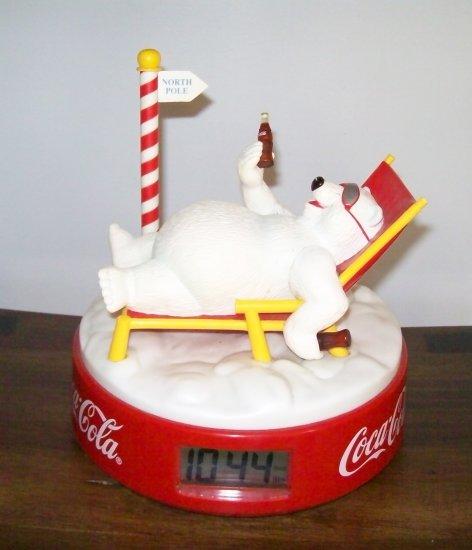 COKE polar bear vintage clock - SOLD