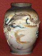 Occupied Japan dragon vase