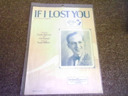 If I Lost You (Music Sheet)
