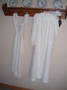 Victorian Nightgown, Fancy Linen Apron