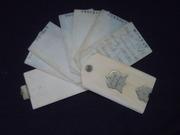 Ivory Note case open