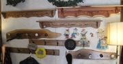 Hand made shelves and coat racks 001-1