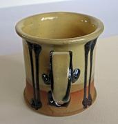 Rare Vintage Karin and Erling Heerwagen Danish Modern Studio Pottery Cup