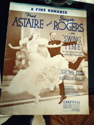 fred and ginger sheet music