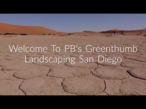 PB's Greenthumb Landscape in Encinitas, CA