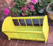 vintage cradle, soon to be repainted