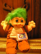 12 high troll doll..$8