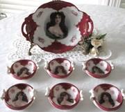 Victoria Austria Portrait Porcelain Set (GEMMA)