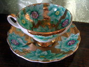 Excuisite Tea Cup and Saucer