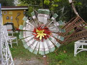 Yard Art Flower..$10.