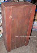 OLD Dr. Pepper Crate & Sign Cupboard