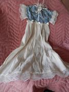 Handmade Christening Gown - Doll