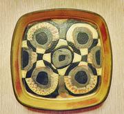 Danish Modern Royal Copenhagen Fajance dish 790-2884 JOHANNE GERBER