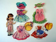 Vintage 1948 Storybook Character Paper Doll