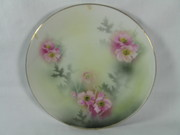 R S Germany Floral Plate @ eBay's Countryside-Curio