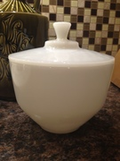Federal Glass grease jar