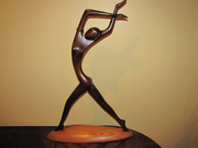 Rare Art Deco Hagenauer Dancer