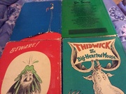 image 4 Dr Seuss large Books by Random House.