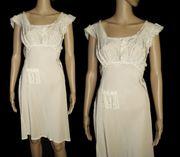 Vintage 1930s Gown . Bias Cut . Designer . Rayon . Sensuous . Steampunk . Art Deco . Nightgown