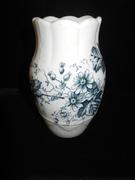 Porcelain Floral Vase - Etruria Pattern - Circa 1800s - $119.00
