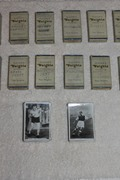 Large 1500+ Piece Lot of Weight's Cigarette Player's Cards