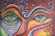 """""""Hope's Tear's #13"""" Oil Painting by Paul Vario"""