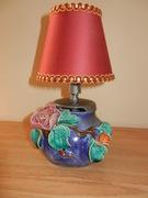 017 Handmade Pottery Lamp - $24.95