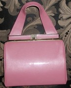Vintage Hardbody Pink Handbag