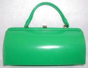Vintage Green Handbag