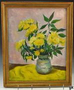 E W Sork Yellow Flowers eBay