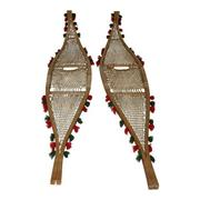 Antique Beavertail Indian Snowshoes