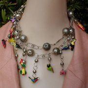 American Native Bird Necklace