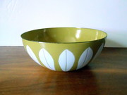 Cathrineholm Mustard and White Lotus Bowl