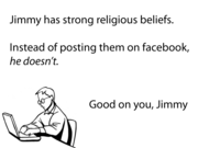 Good On You, Religious Jimmy