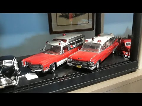 Checking Out Cool Cars With Pam Mikes Outstanding Cadillac Ambulances and Fun Matchbox Cars