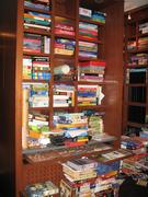 JR's carefully organized collection